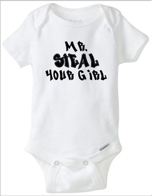 31e2830a3964 Mr Steal Your Girl Baby Boy Onesie Music Inspired by RKCreativeImpression