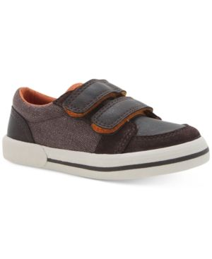 Elements by Nina Little Boys' or Toddler Boys' Donald Casual Sneakers - Brown 12