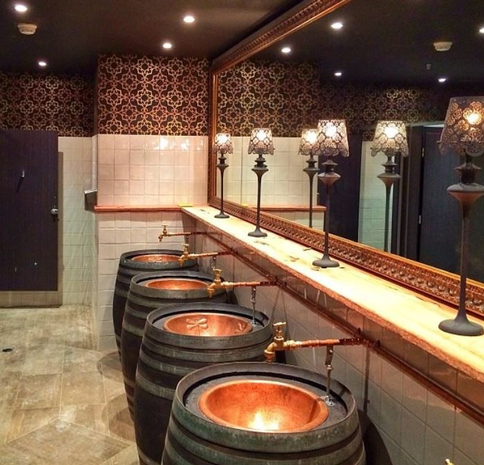 copper bathroom sinks. CopperSinksOnline  Large Round Dragonfly Plain Copper Bath Sinks In The New Hampton Restaurant Sydney AUS Charming And Practical Copper Elements Bars Home Improvement
