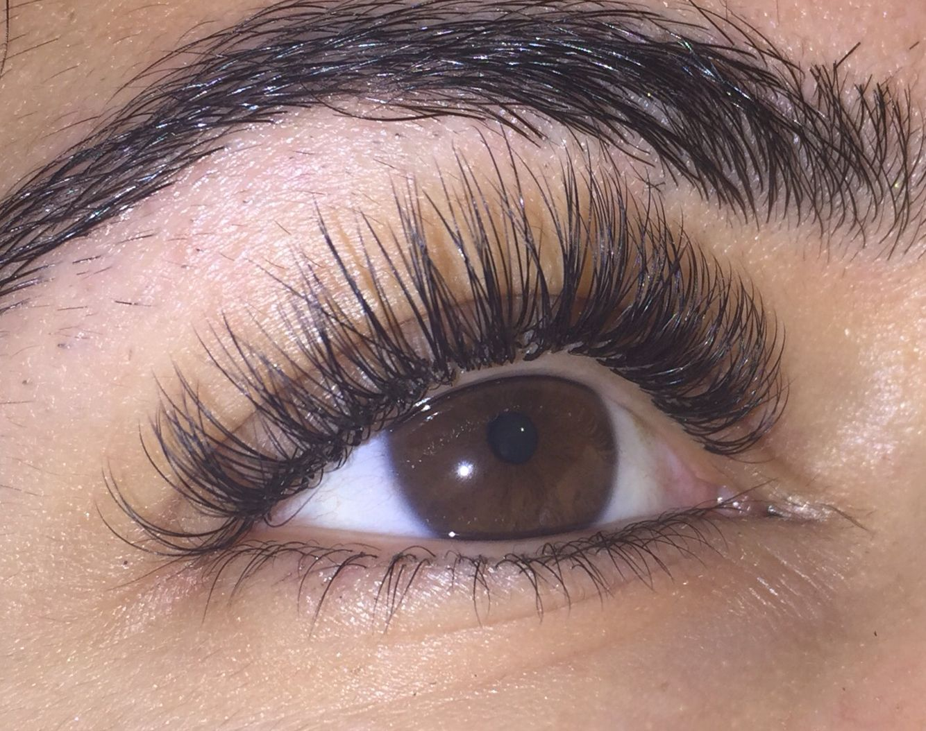 2d Russian Volume Eyelash Extensions By Saharmakeup North