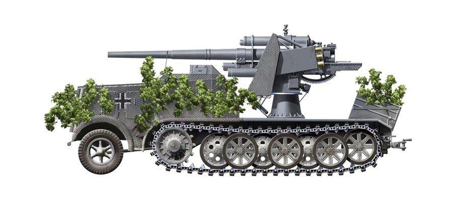 Sd.Kfz. 8 Flak 18 12 t.