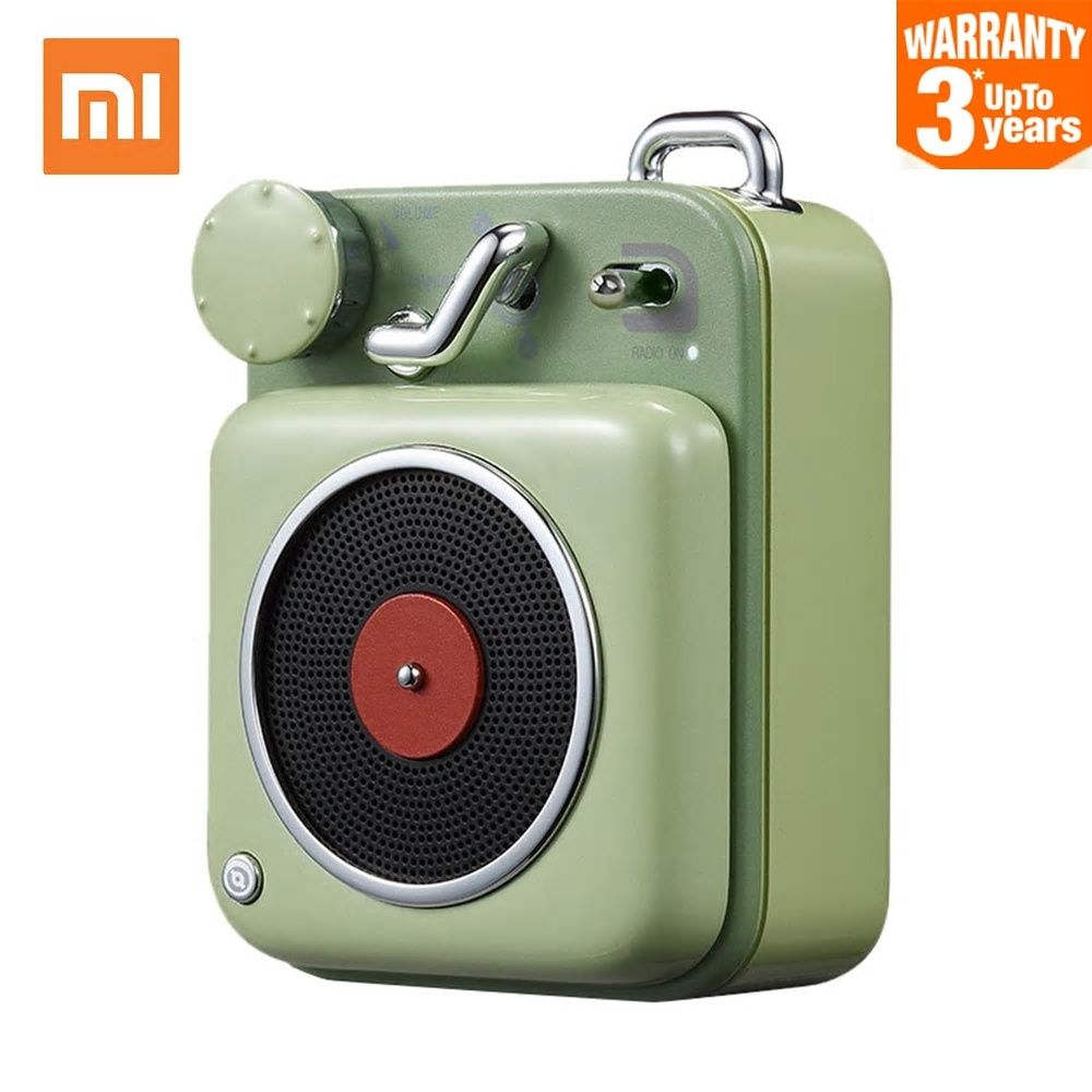 Original Xiaomi Cat King Atomic Record Player Radio Bluetooth 4 2