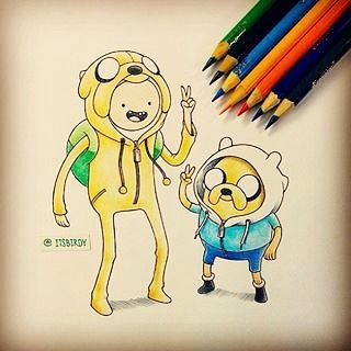 Cool #adventuretime #sketch  Get cool tshirts at www.teedunk.com  #finn #jake #drawing #illustration #princessbubblegum #iceking #gunter #glob #adventure #l4l #like4like #likeforlike #followforfollow #followback #instafollow