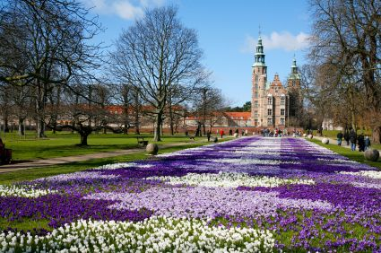 Springtime at Rosenborg Castle