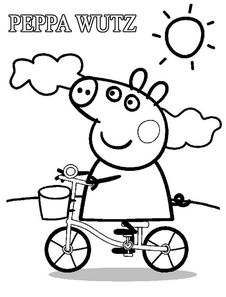Schon Peppa Wutz Ausmalbilder Aufenthalt Inspirierend Und Vielen Dank Fur Den Besuch Meines Blogs 7meere Club Den Obigen A Buku Mewarnai Cara Menggambar Warna