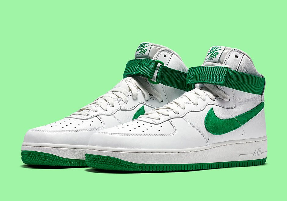 What do you think of this St. Patrick's Day inspired Nike Air Force 1 High  QS? Coming soon.