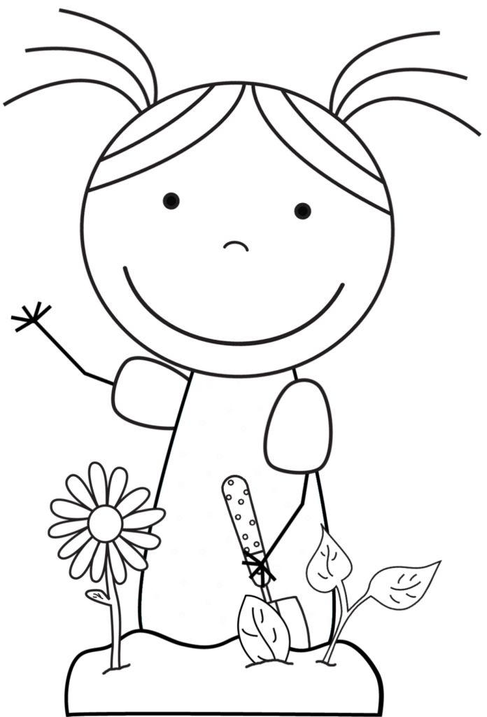 Coloring Picture Earth : Kid color pages: earth day for girls kids colouring and
