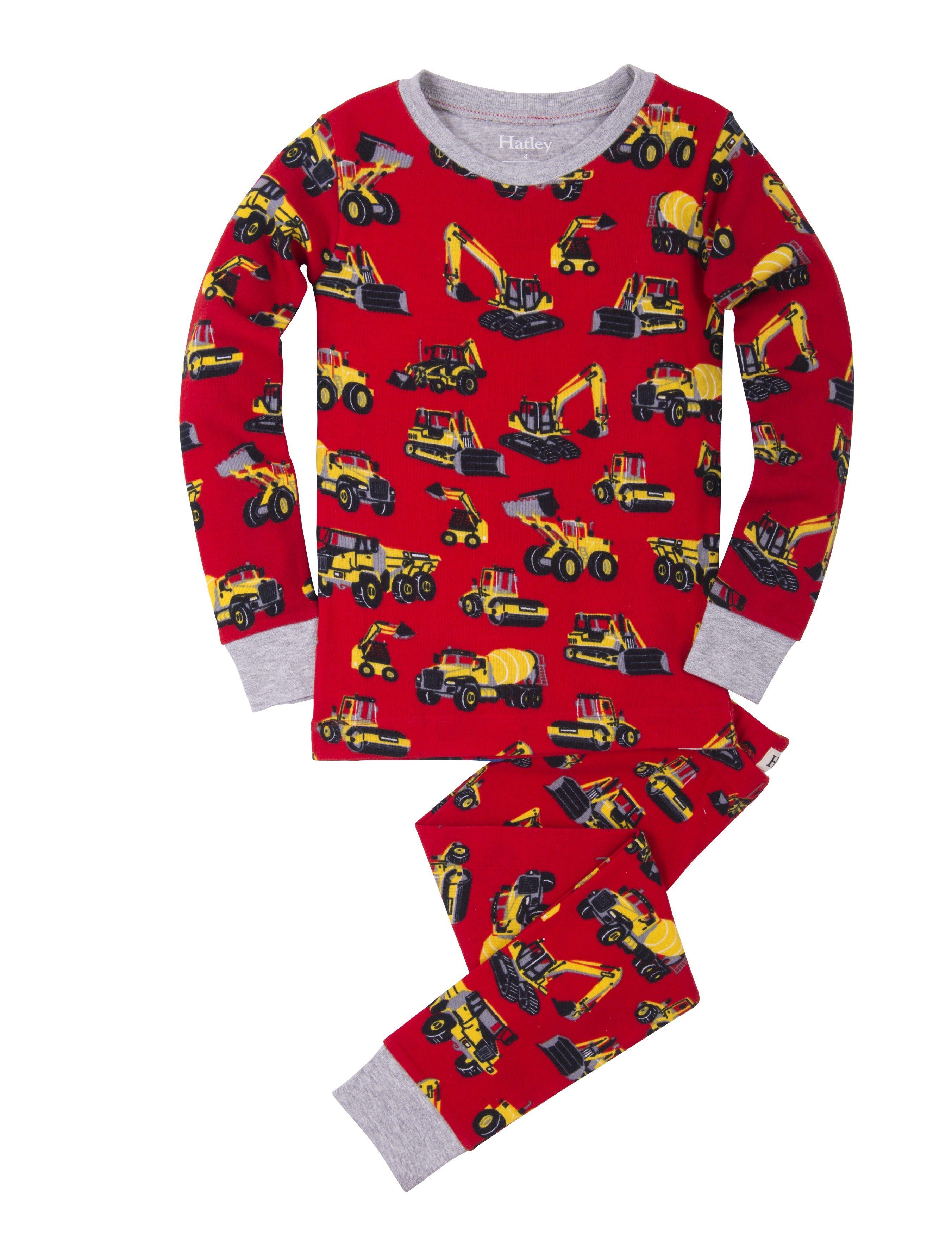 9f3eda32243 Jongens pyjama Heavy duty machines van het kinderkleding merk Hatley ...