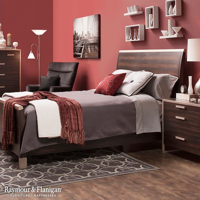 . For a bold look to your retro style bedroom  start with the