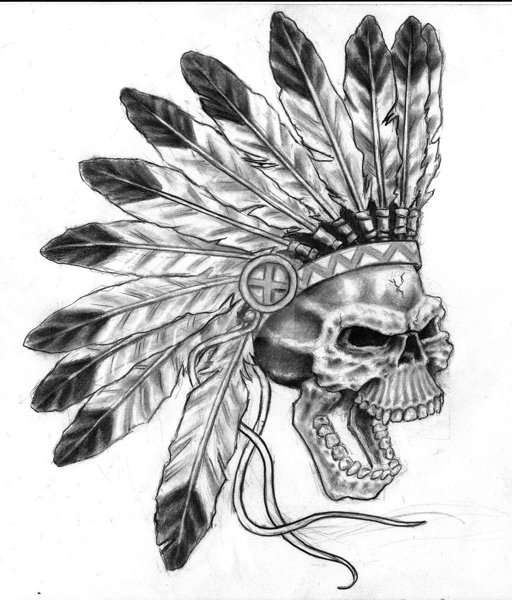 17++ Stunning Indian skull tattoo drawings image ideas