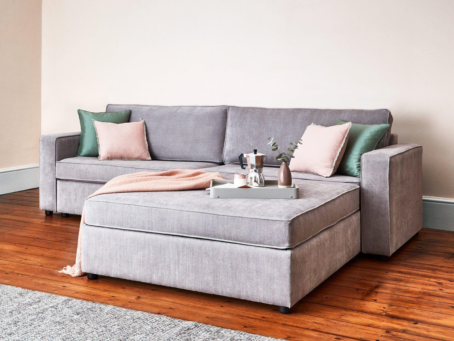 The Westbury 2 Modules Sofa Bed with Ottoman   Modular ...