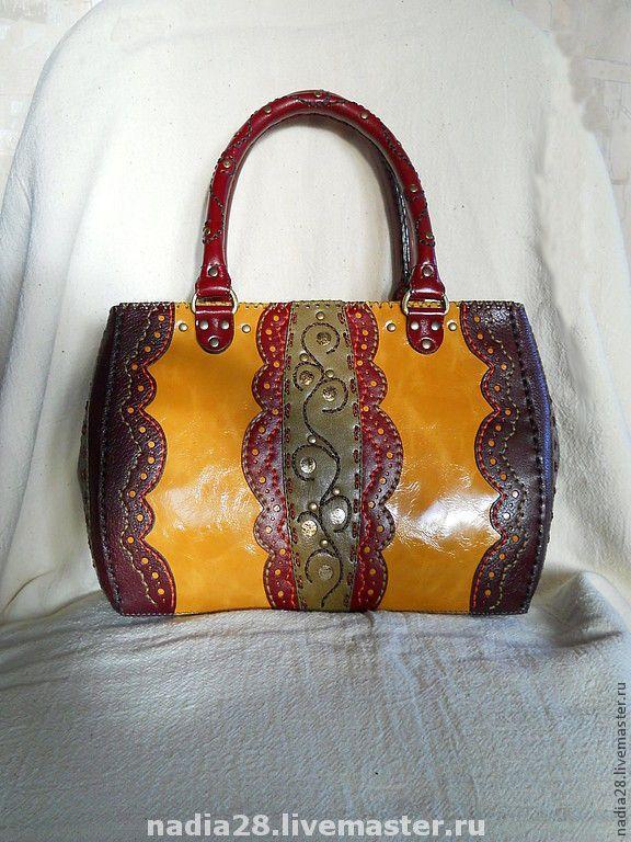 f4b87b73f0a5 Женские сумки ручной работы. Ярмарка Мастеров - ручная работа. Купить Сумка  из кожи с