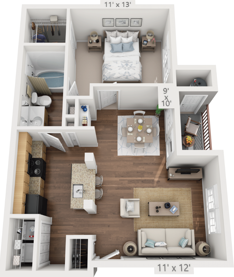 Floor Plans Of The Reserve At Walnut Creek In Austin, TX