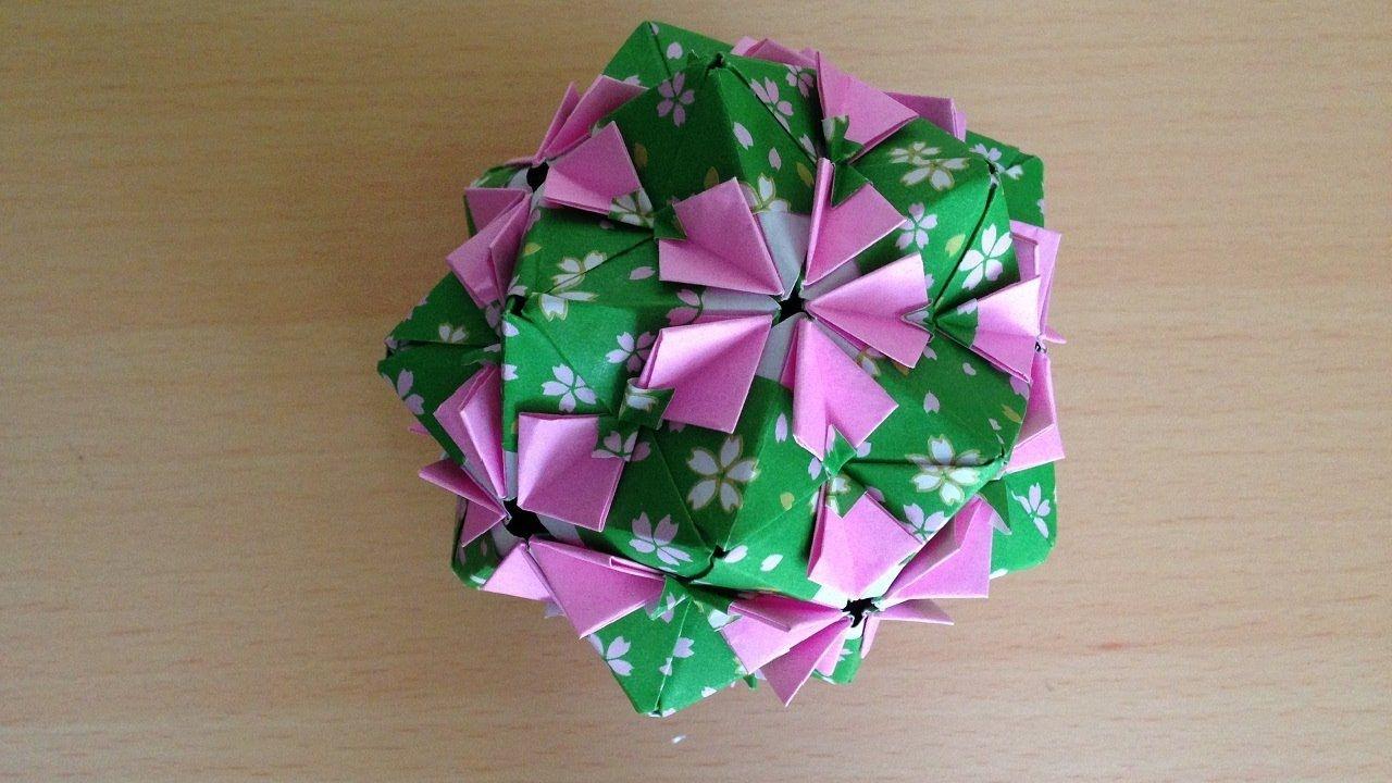 Origami Kusudama Flower 30units