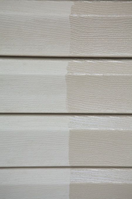 Restoring Vinyl Siding With Linseed Oil Vinyl Siding Home Maintenance Outdoor Diy Projects