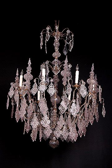 18th century french antique crystal chandelier with 8 spires one of 18th century french antique crystal chandelier with 8 spires one of the most stunning chandeliers aloadofball