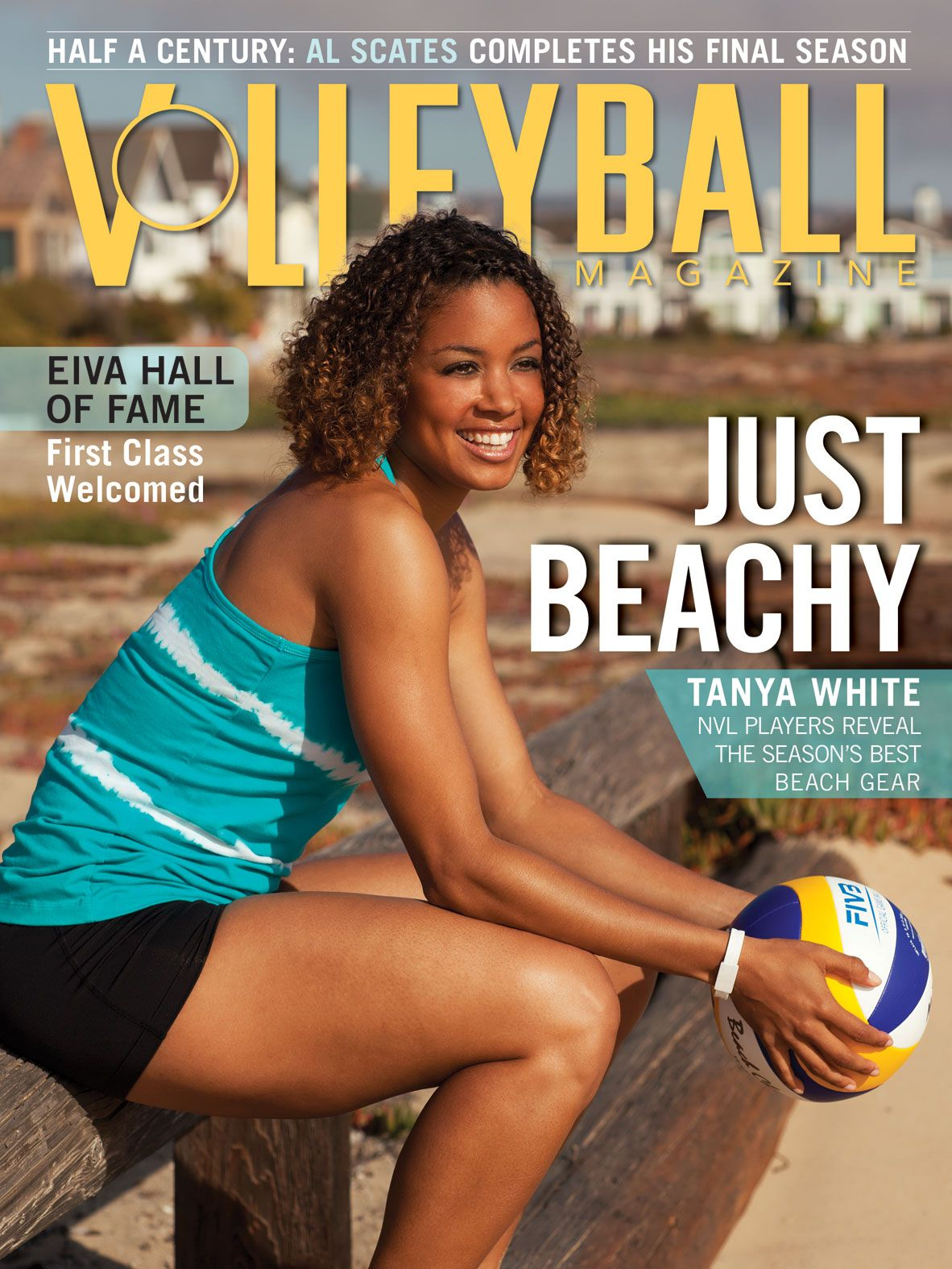May 2012 Issue Of Volleyball Magazine Tanya White Volleyball Beach Volleyball Ca Magazine