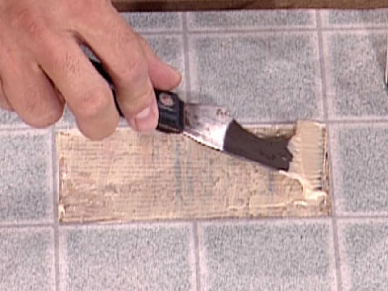 How To Patch Vinyl Flooring With