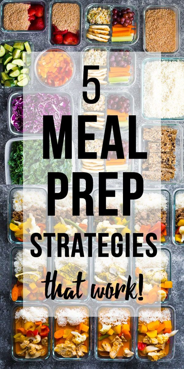 5 Meal Prep Strategies That Work! #crockpotmealprep