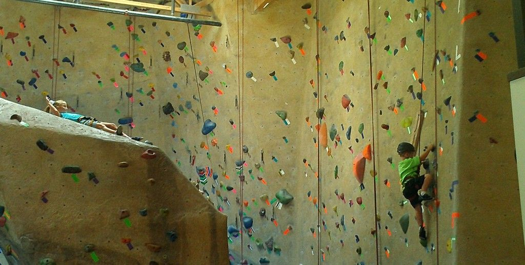 Addison And Davis Climbing At Action Sports Vert Rock Gym In Bakersfield Focus T25 T25 Day
