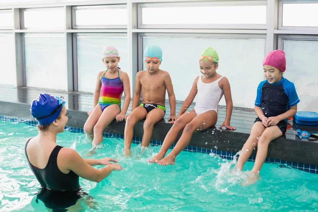 8 Tips For Teaching Your Kid How To Swim Like A Fish Swim Lessons Kids Swimming Swimming