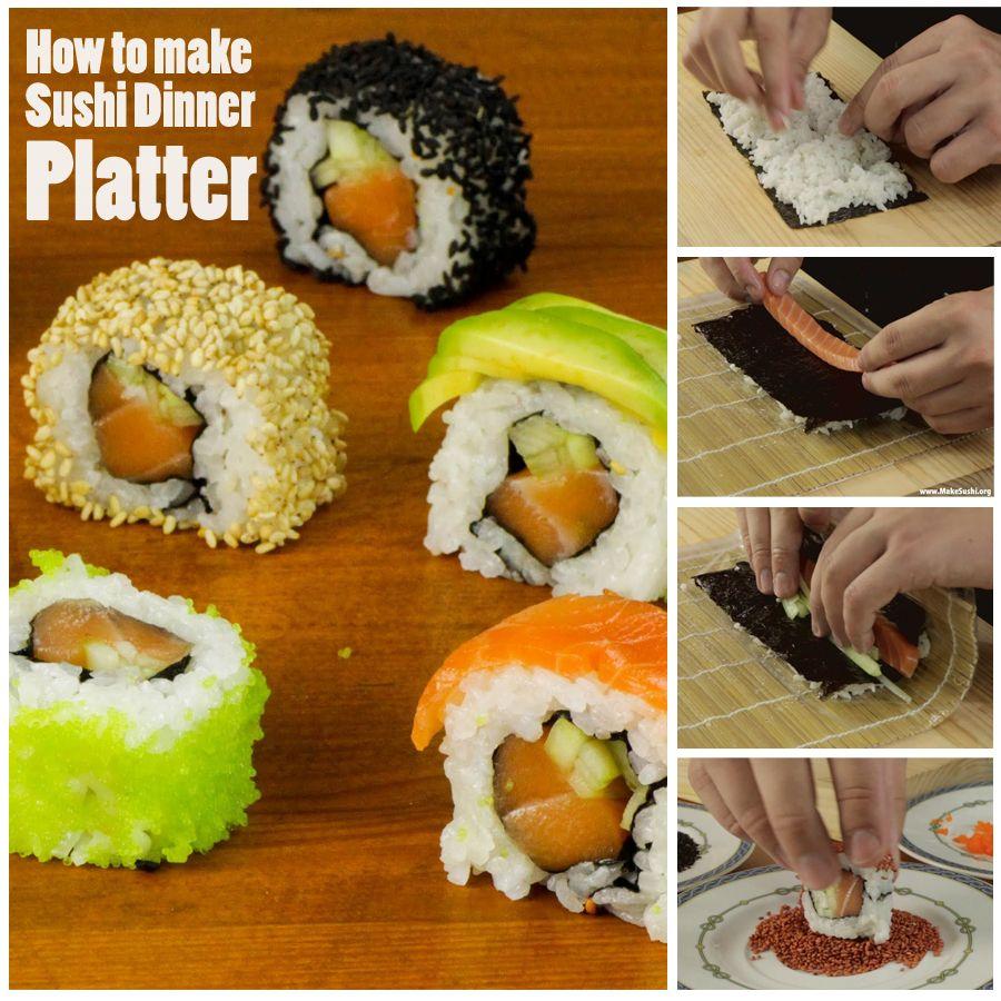 Sushi Dinner Platter Cuisine