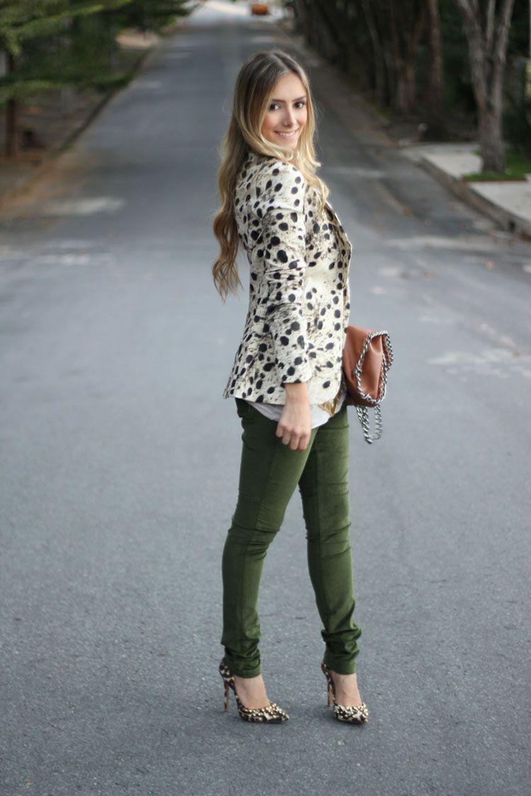 Resultado de imagem para blazer lã e calça feminina