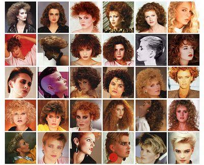 Peinados De Los 80 Cortes De Cabello
