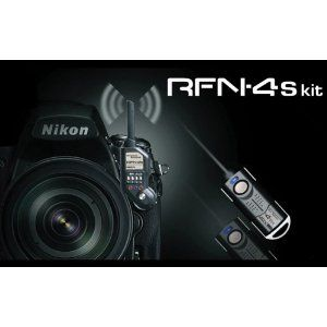 Nikon D200, D300, D300s, D500, D700, D800, D800E, D810, D1, D2, D3, D3x, D3s, D4, D5 RFN-4s Wireless Remote Shutter Release for Nikon DSLR with MC30 Type Connection Transmitter and Receiver Set