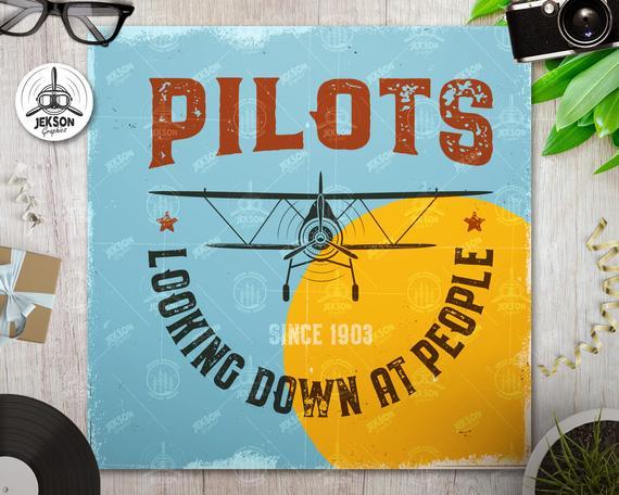 Funny Pilots T-Shirt SVG - Aviation Cut File Aviator Flight