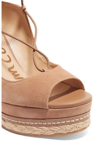 1622702980b Sam Edelman - Harriet suede espadrille wedge sandals | Products ...