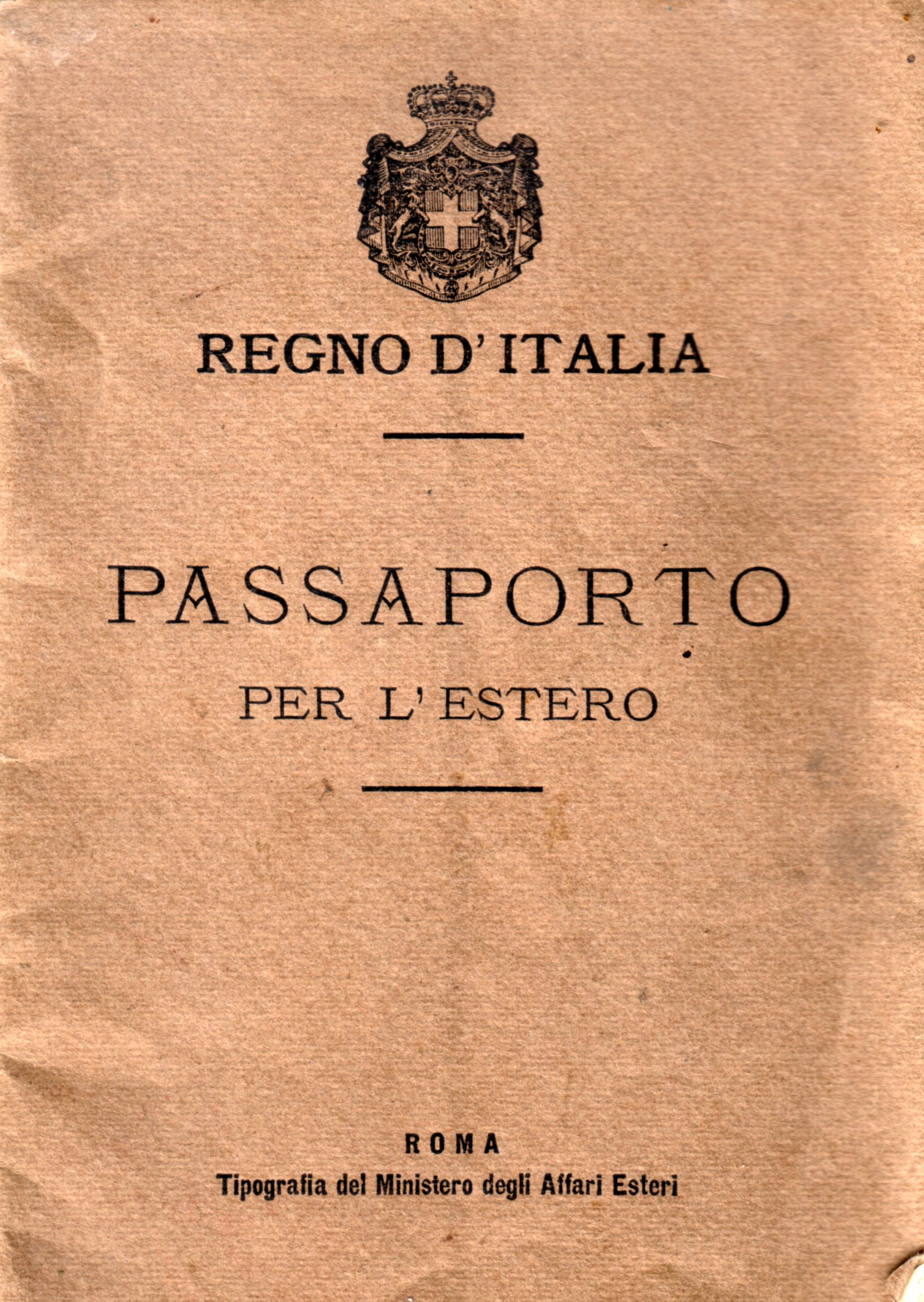 vintage italy passport cover Google Search Passport
