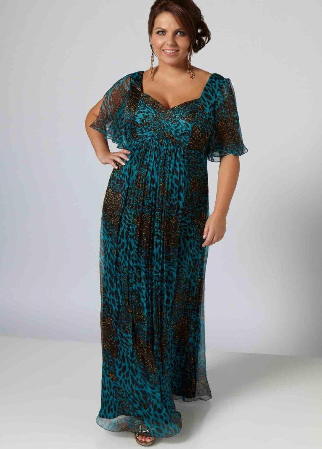 schöne kleider für große größen | abendkleid, kleider