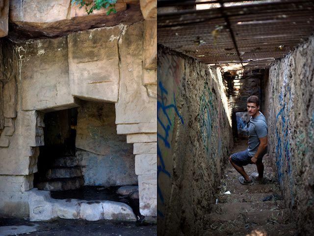 Fotochoa Blog The Old La Zoo Zoo Abandoned Amusement Parks Griffith Park
