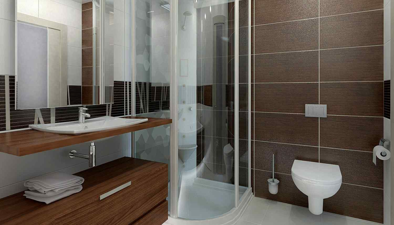 маленькая ванная комната с душевым уголком дизайн фото