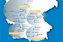 Über 100 Abfahrtsorte aus ganz Deutschland!