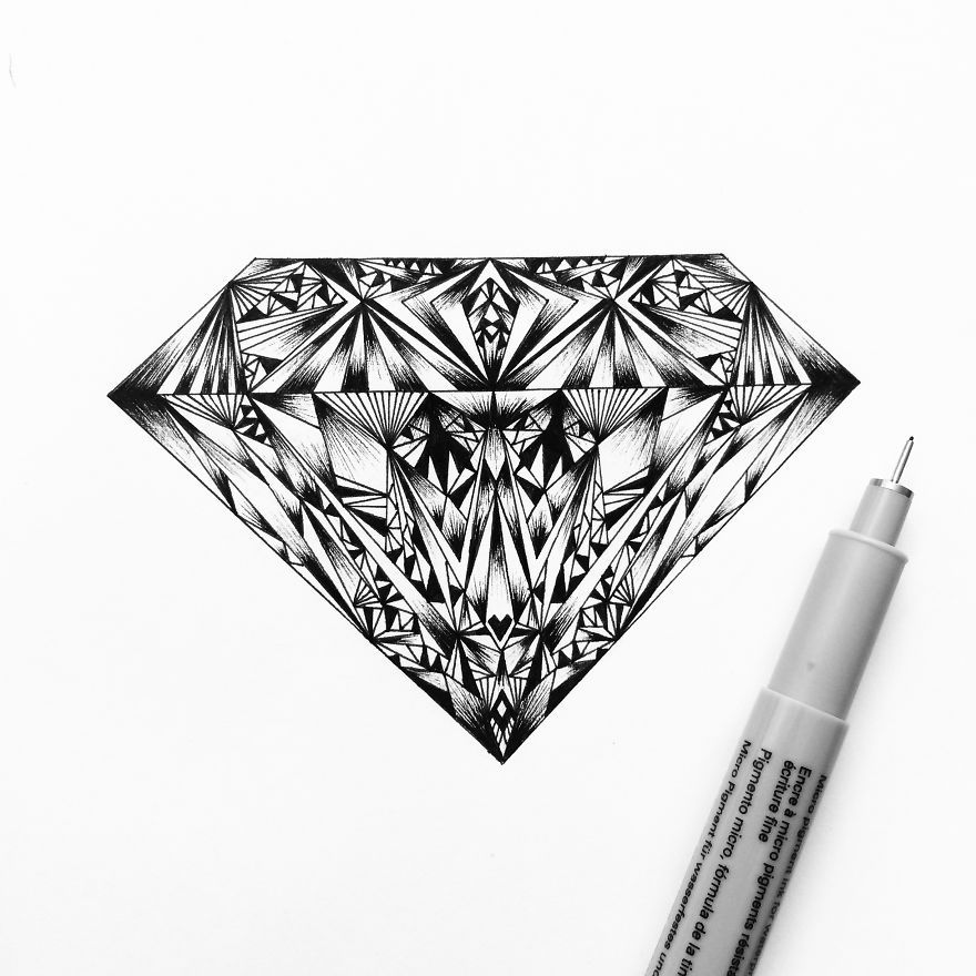 I Am Obsessed With Drawing Super Detailed Art | Bored ...