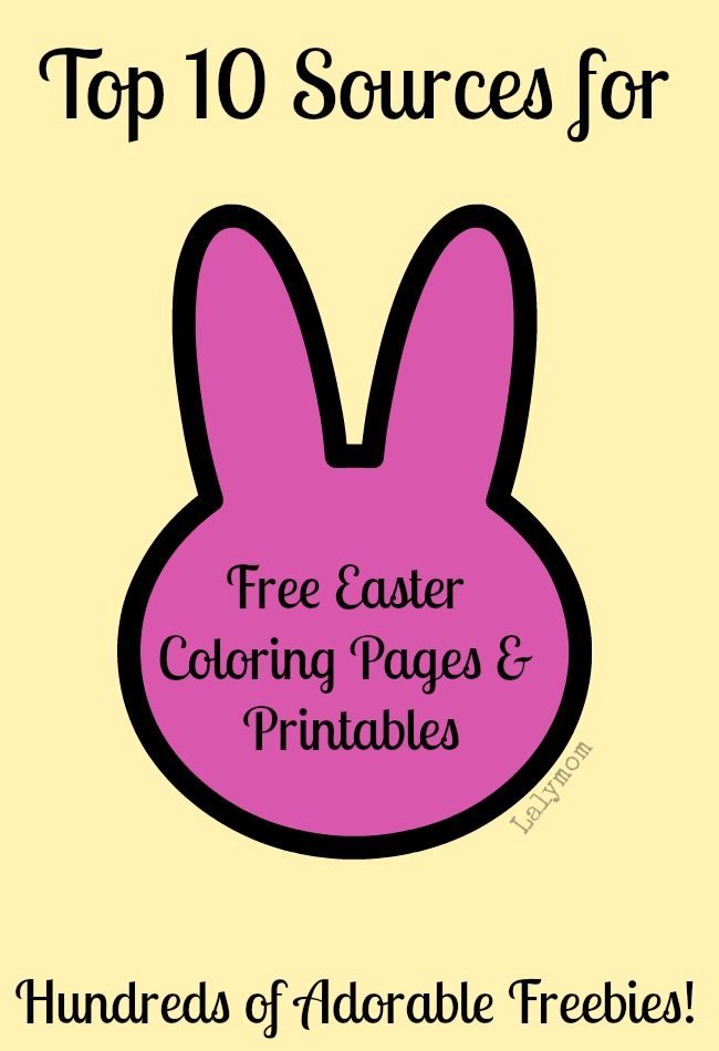 Top 10 Easter Coloring Pages Printables Sources Easter