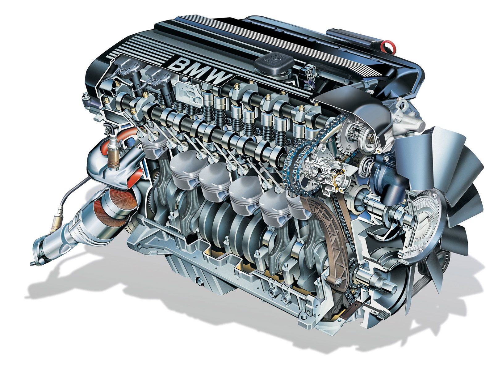 BMW Z4 Roadster Engine Wallpaper