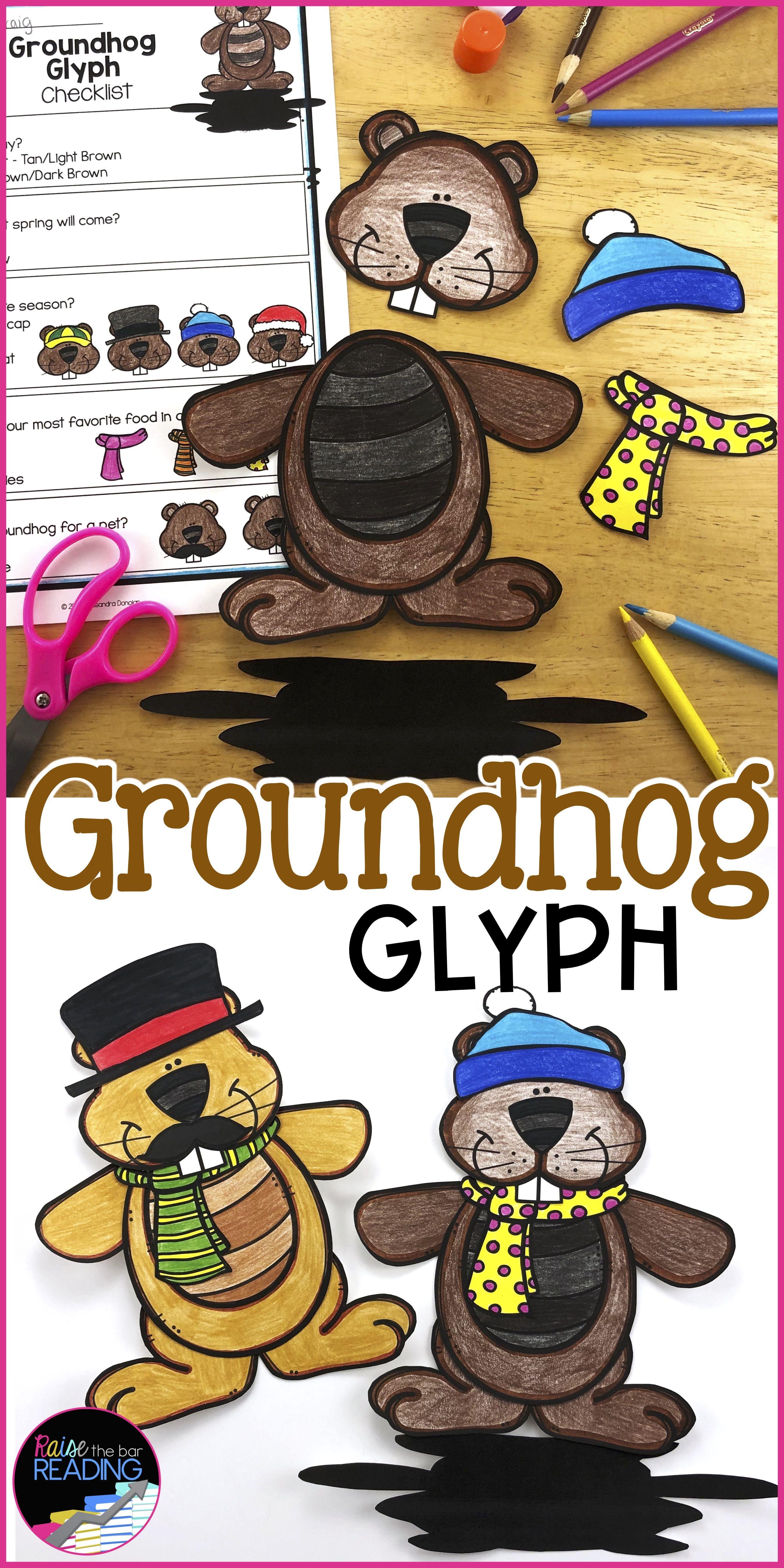 Groundhog Day Activity Groundhog Day Glyph Groundhog Day