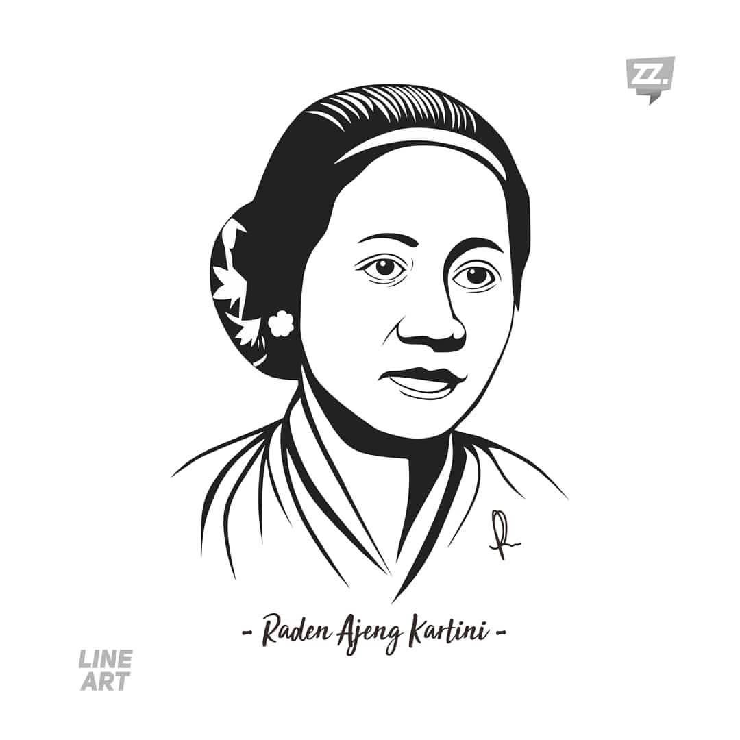 Gambar Foto Pahlawan Ra Kartini