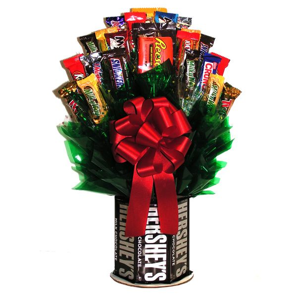 Hershey's and More Chocolate/Candy Bouquet - Overstock™ Shopping ...