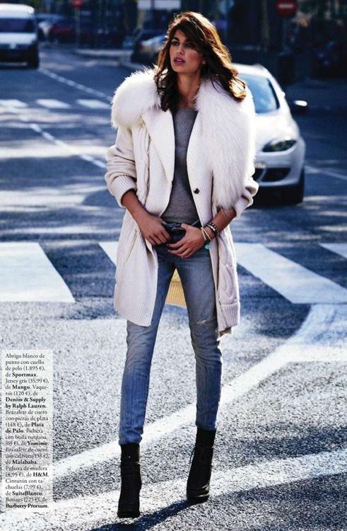 Davinia Pelegri for Elle Spain November 2012