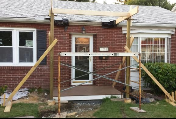 Front Porch Roofs Issues With Rustic Gable Roof Framing