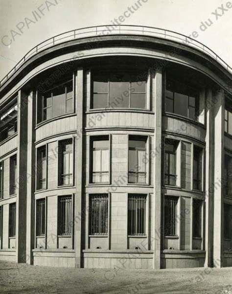b timent des services techniques des constructions navales 1928 8 boulevard victor paris. Black Bedroom Furniture Sets. Home Design Ideas