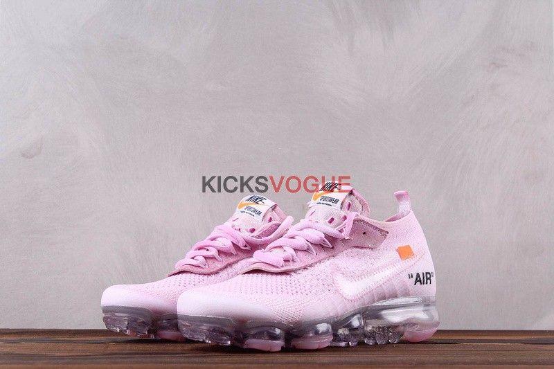 Custom Dye Off White x Nike Vapormax Pink | Nike, Pink