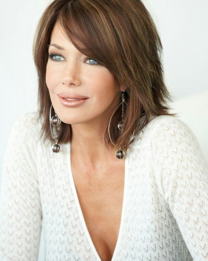 Medium Length Hairstyles For Fine Hair Best Pinvickie Anne On Hair  Pinterest  Hair Coloring