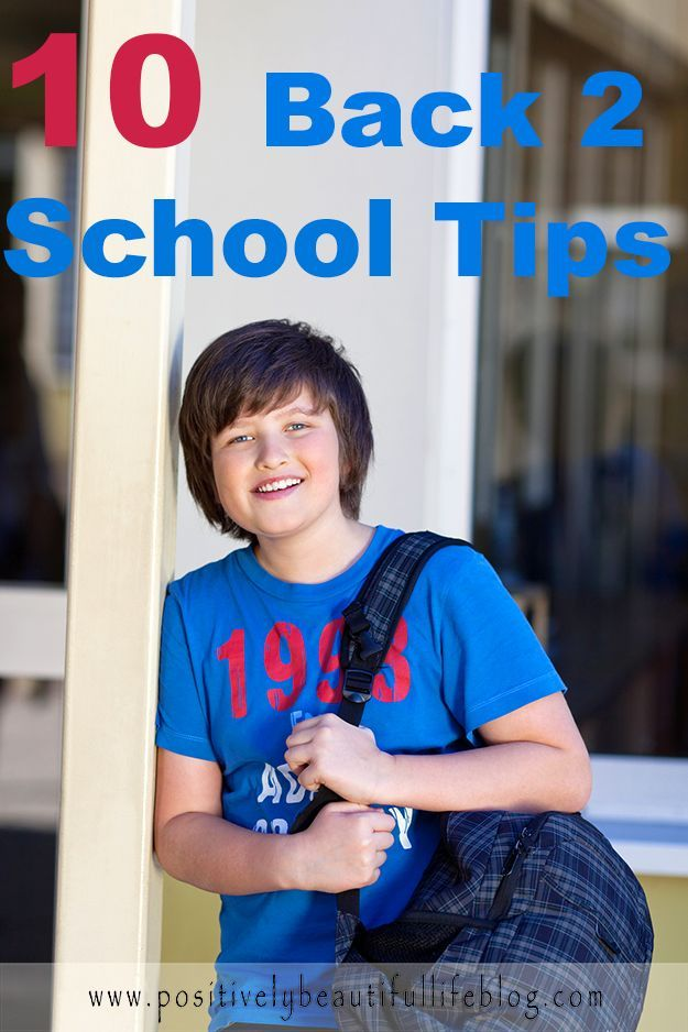Parents, these are some great tips on how to make it a smooth year for your child.