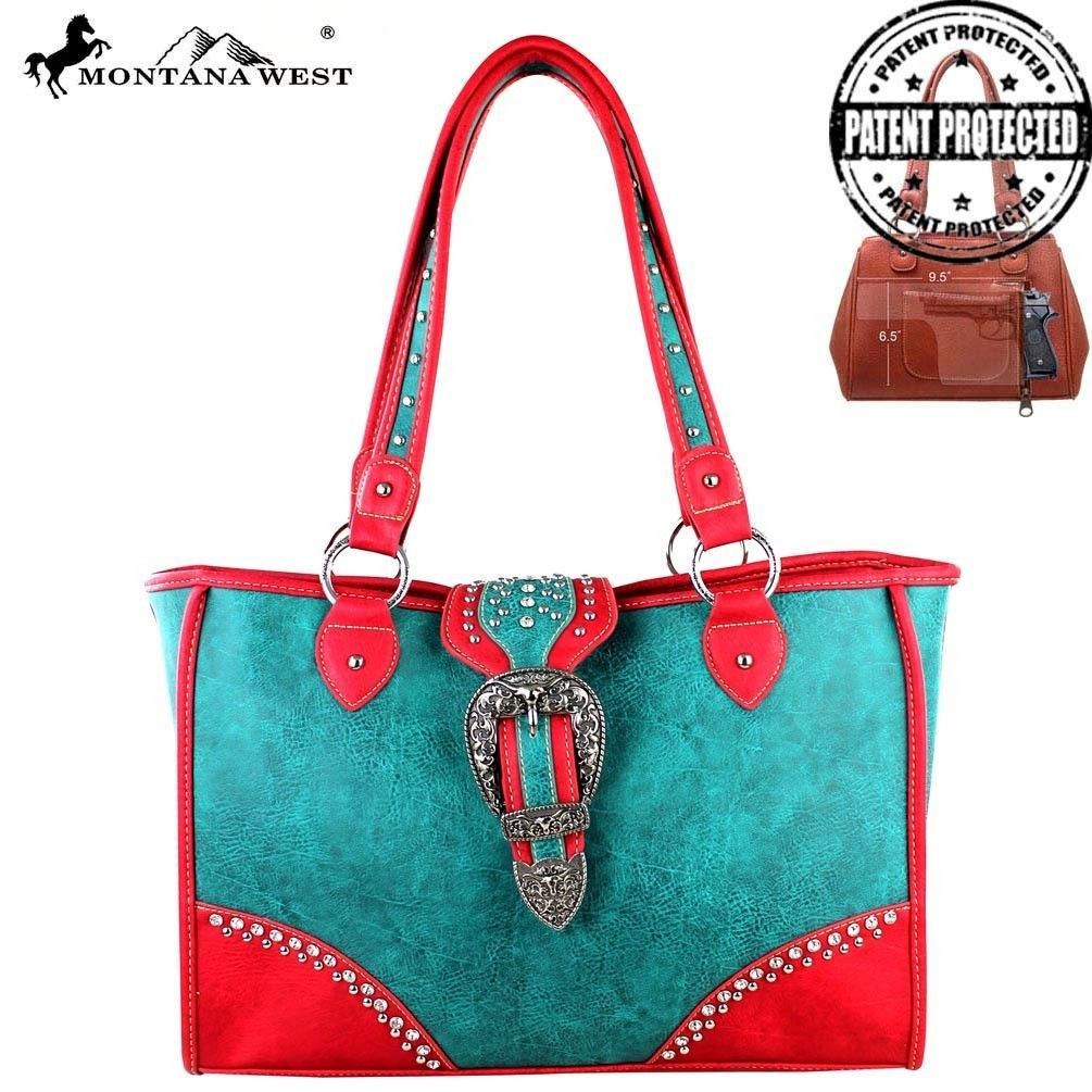 MW278D-9220 Montana West Dual Side Concealed Carry Handbag