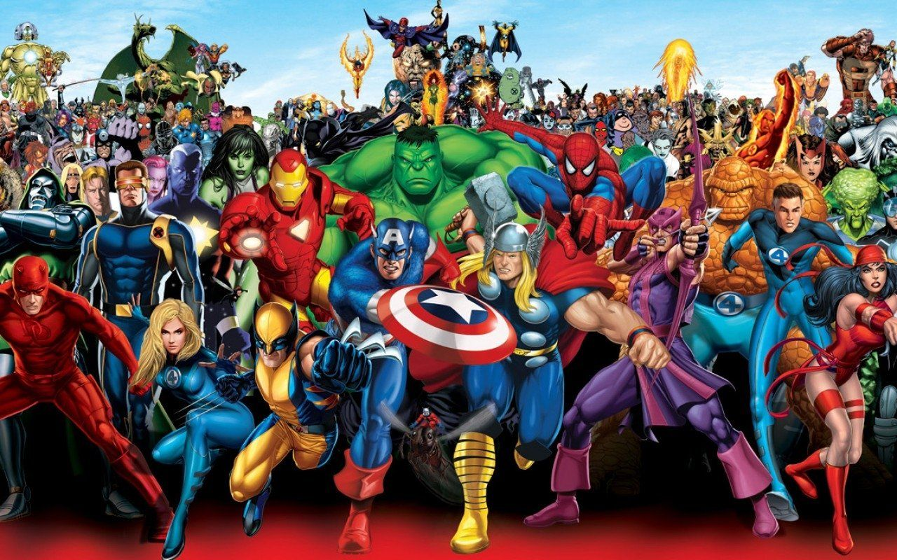 marvel heroes live wallpaper Загрузить marvel heroes live | hd